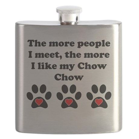 My Chow Chow Flask