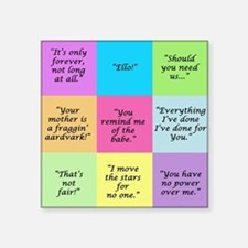 Labyrinth Quotes Sticker