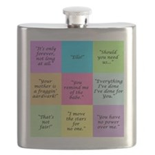 Labyrinth Quotes Flask