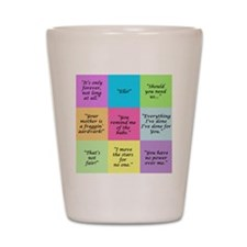 Labyrinth Quotes Shot Glass