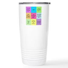 Labyrinth Quotes Travel Mug