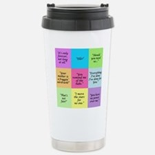 Labyrinth Quotes Travel Mug