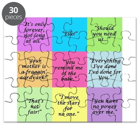 Labyrinth Quotes Puzzle
