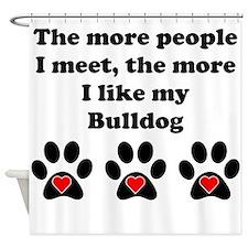 My Bulldog Shower Curtain