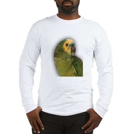 Amazon Blue Front Parrot Long Sleeve T-Shirt