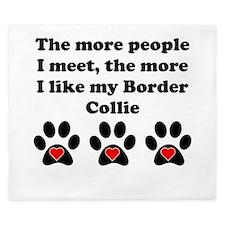 My Border Collie King Duvet