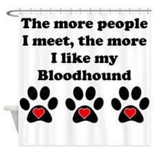 My Bloodhound Shower Curtain