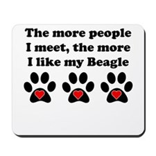 My Beagle Mousepad