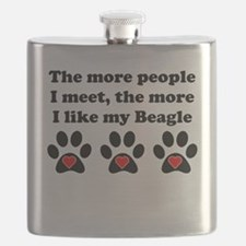 My Beagle Flask