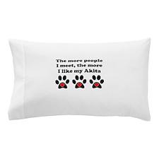 My Akita Pillow Case