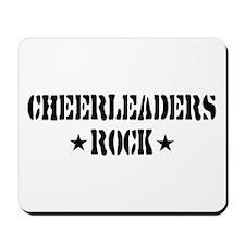 Cheerleaders Rock Mousepad