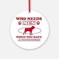 Bloodhound mommy designs Ornament (Round)