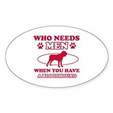 Bloodhound mommy designs Decal