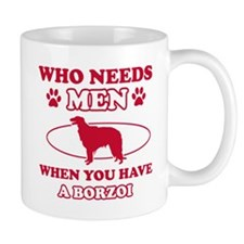 Borzoi mommy designs Mug