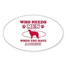 Borzoi mommy designs Decal