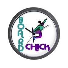 BoardChick II Wall Clock