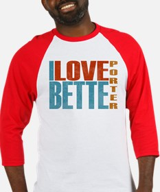 I Love Bette Baseball Jersey