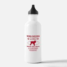 Brussels Griffon mommy designs Water Bottle
