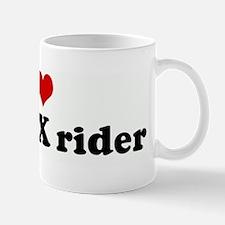 I Love my BMX rider Mug
