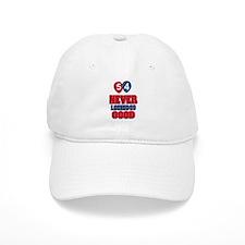 54 Never looked so good Baseball Baseball Cap
