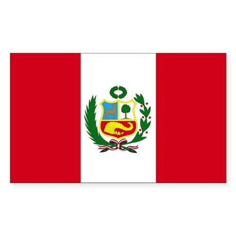 FLAG Rectangle Sticker