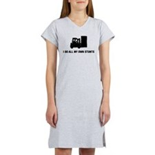 Forklift Operator Women's Nightshirt