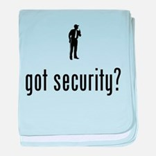 Security Guard baby blanket