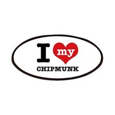 I love my Chipmunk Patches