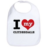 Clydesdale Cotton Bibs
