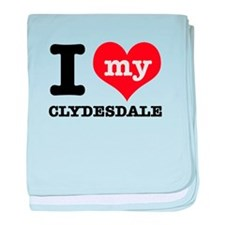 I love my Cyldesdale baby blanket
