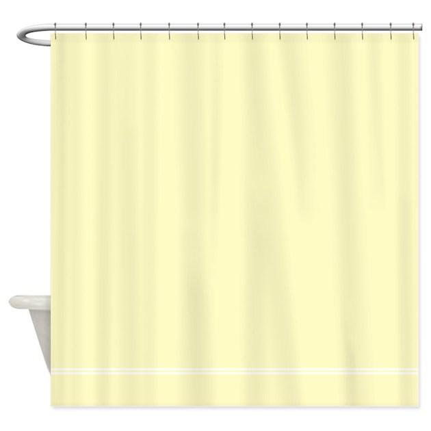 Cream Shower Curtain By Inspirationzstore
