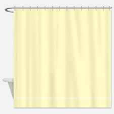 Cream Shower Curtain