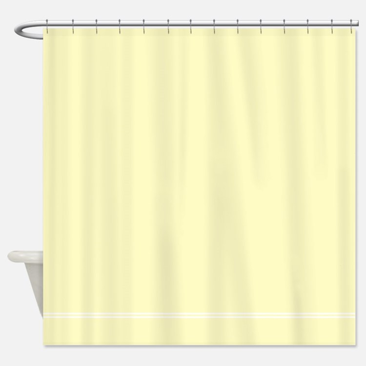 Cream Shower Curtains