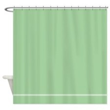 Sage Green Shower Curtain
