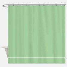 Sage Green Shower Curtain