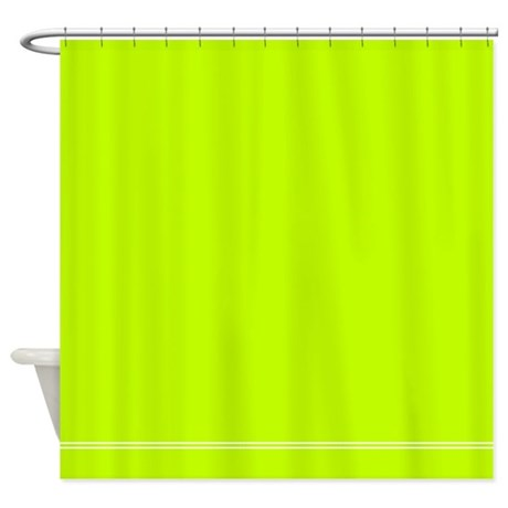 Lime Green Shower Curtain By Inspirationzstore