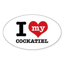 I love my Cockatiel Decal