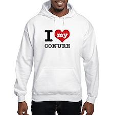 I love my Conure Hoodie