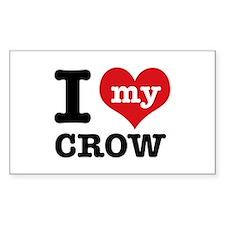 I love my Crow Decal