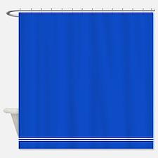 Royal Blue Shower Curtain