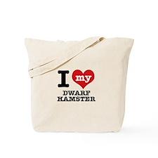 I love my Dwarf Hamster Tote Bag