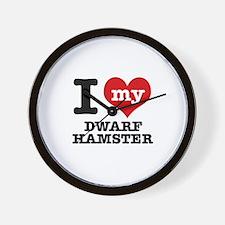 I love my Dwarf Hamster Wall Clock