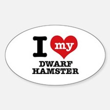 I love my Dwarf Hamster Decal