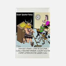 Conan The Custodian in Slacker class Rectangle Mag