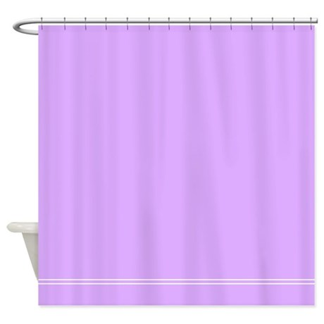 Lilac Purple Shower Curtain