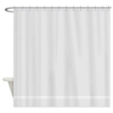 Silver Gray Shower Curtain