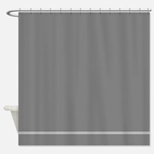 Charcoal Grey Shower Curtain