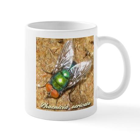 Phaenicia sericata Mug