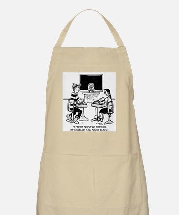 Make Up Words to Expand Vocabulary Apron