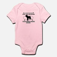 Black Russian Terrier mommy gifts Infant Bodysuit